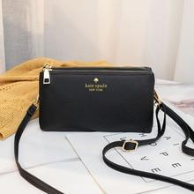 Bags Clutches Light-Weight Crossbody Wallet Shoulder-Bags Women Zipper Daily Functional