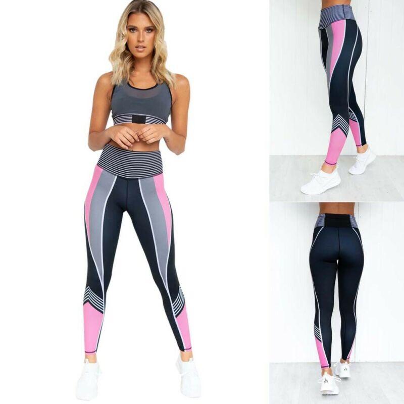 2020 New Fashion Women Sport Workout Gym Fitness Leggings Pants Jumpsuit Athletic Clothes