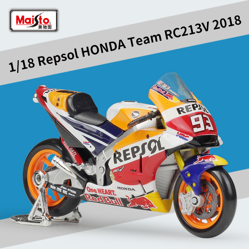 Maisto 1:18 Repsol HONDA Team RC213V Alloy Motorcycle Model Car Model Diecasts & Toy Vehicles Collect Gifts