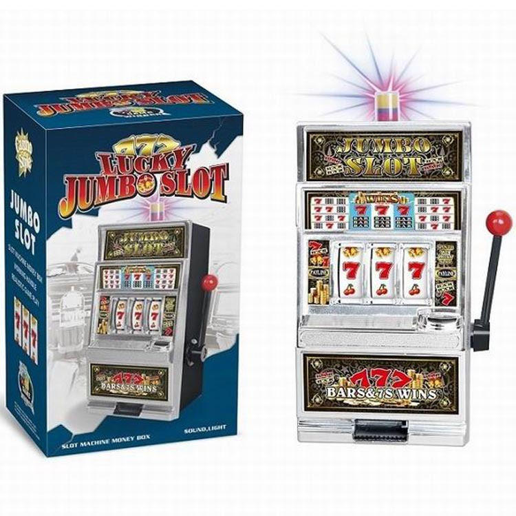 Music Coin Bank Slot Machines With Music Light-Hand-cranking Award Of CHILDREN'S Electric Toys Mini Game Console