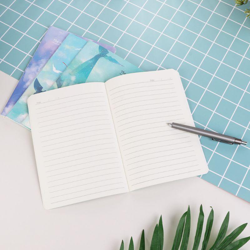 Mega Deal Ea6a 4pcs Set A5 Notebook Sketchbook Cute Cartoon
