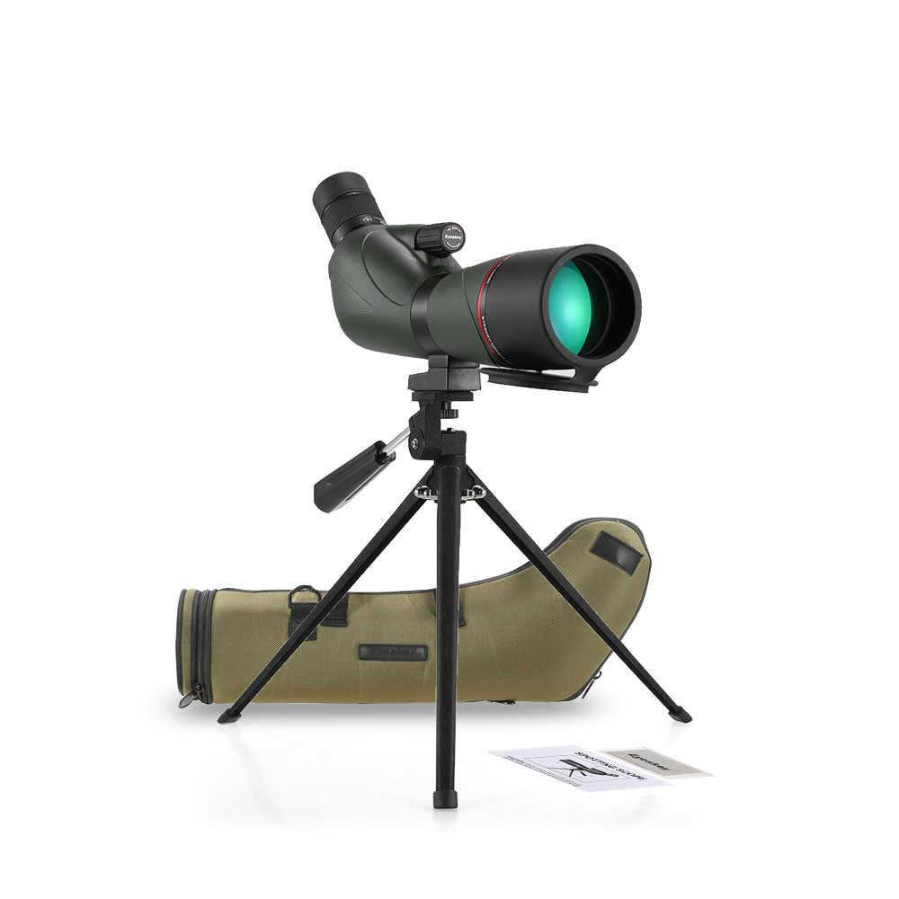 15-45x60 زاوية نطاق الإكتشاف BaK4 مقاوم للماء فوجبروف المحمولة نطاق السفر أحادي تلسكوب لمشاهدة الطيور