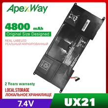 4800mAh 7.4V C23 UX21 C23UX21 batteria del computer portatile Per Asus Zenbook UX21 UX21A UX21E Ultrabook Serie