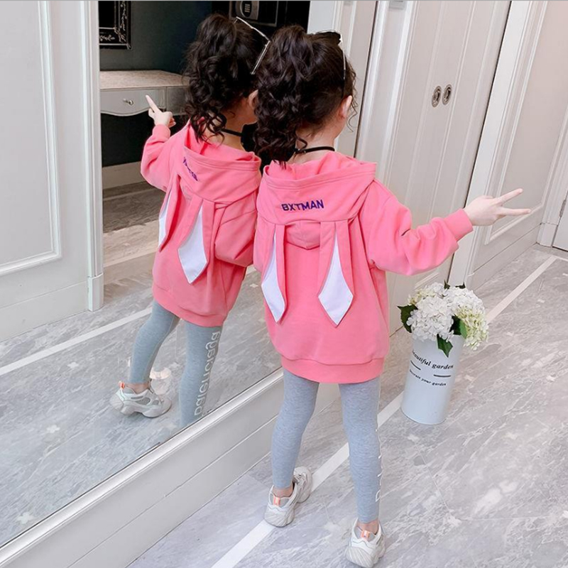 Fashion Girls Clothes Set Teen Girls Tracksuit Spring Autumn Long Sleeve 2pcs Children Suits Little Girl Sets 4 6 8 10 12 years 4