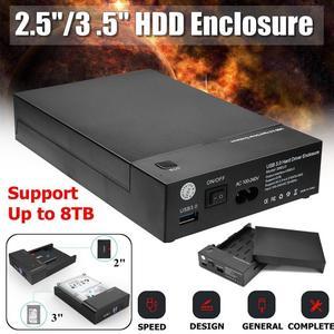 Image 4 - USB 3.0 כונן קשיח Case מארז חיצוני כלי משלוח HDD דיסק 2.5 3.5 SATA