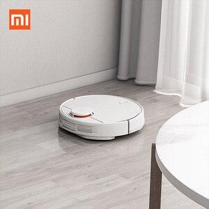 Image 2 - NEUE Xiao mi Roboter Staubsauger STYJ02YM Fegt Wischen 2100Pa Saug Staub Collector mi Hause Planung route wireless reiniger