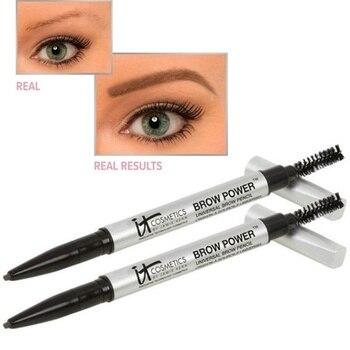 IT Cosmetics Long Lasting Definer Eyebrow Powder Pencil Brown GOOVITOR Waterproof Eyebrow Long Lasting Eye brow Brow Power make