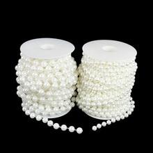 Beads-Chain Garment Handmade-Accessories Pearl-String Wedding-Decoration Imitation-Pearl-Beads