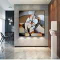 Знаменитая абстрактная мечта Пикассо женщина живопись женщина HD холст настенный постер гостиная домашний Декор картина