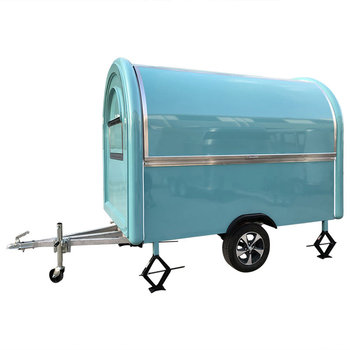 Mobile Food Truck Concession Trailer Catering Van