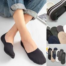 Chaussettes noires unisexes, courtes et antidérapantes, de couleur unie, pour femmes et filles, à la mode, de haute qualité, 3 paires
