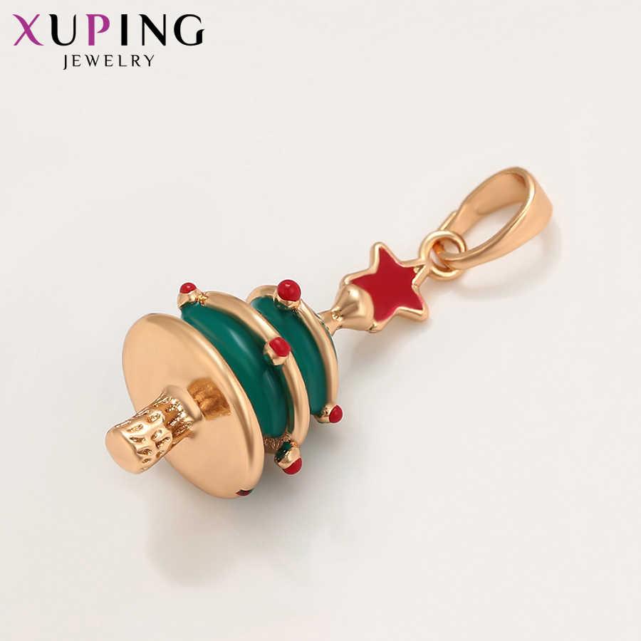 Xuping mode plante forme pendentif avec environnement cuivre bijoux pour les femmes noël jour cadeau S225-35667