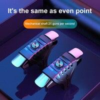 Mando de juego para móvil PUBG, botón de disparo de objetivo, Joystick tirador L1R1 para IPhone y Android, novedad de 2021