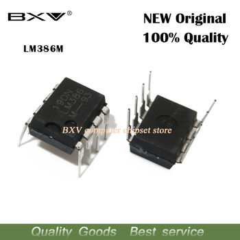 10pcs LM386 LM386N LM386M LM386L o Amplifiers LOW VLTG AUDIO PWR AMP DIP-8 new original IC - discount item  9% OFF Active Components