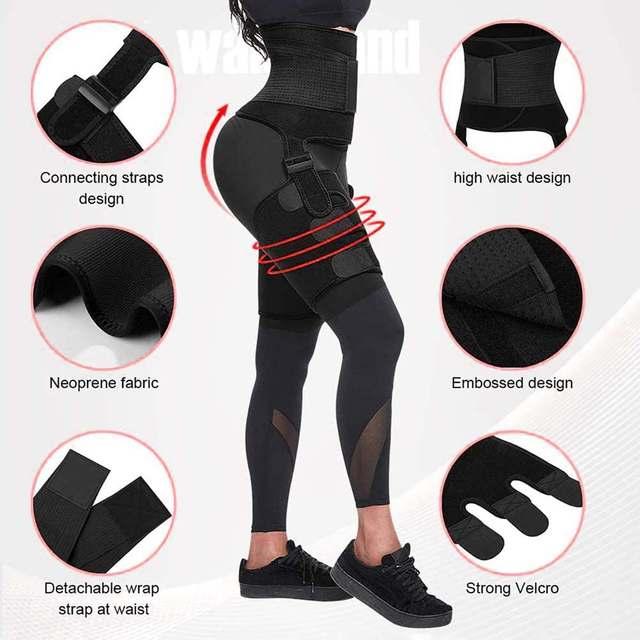 1Pcs Men Women Tummy Waist Trainer Cincher Sweat Belt Trainer Hot Body Shaper Slim Shapewear Sweat Belt Waist Cincher Trainer 4