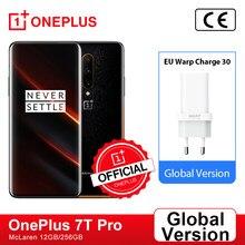 OnePlus – smartphone 7T Pro, Snapdragon 855 Plus, 8 go, 256 go, écran AMOLED 90Hz, Triple caméra 48mp, magasin officiel, Version internationale; Code français: SUPERDEALSFR14(€100-14),SUPERDEALSFR07(€50-7)