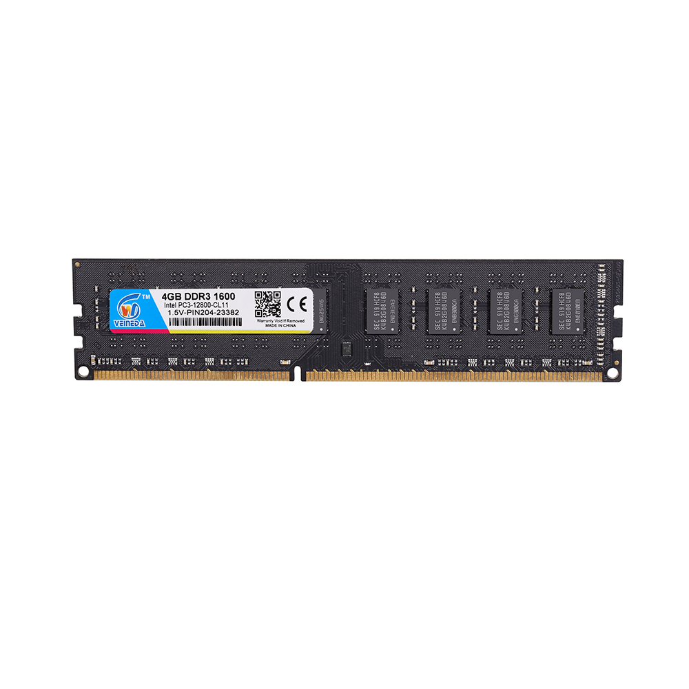 VEINEDA <font><b>DDR3</b></font> <font><b>Ram</b></font> <font><b>4</b></font> <font><b>gb</b></font> 1600Mhz Compatible 1333 1066 ddr 3 4gb PC3-12800 <font><b>Memoria</b></font> 240pin for AMD Intel Desktop image