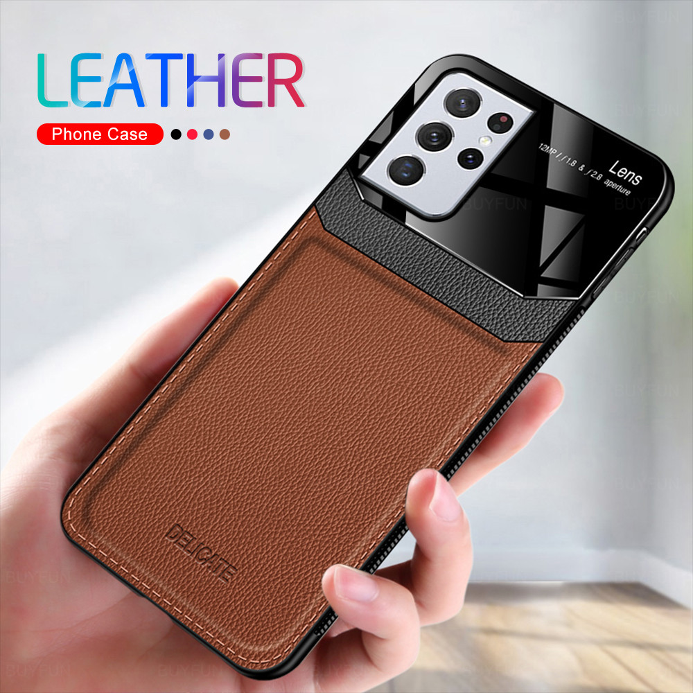 Galaxy S21 Ultra Leather Case 1