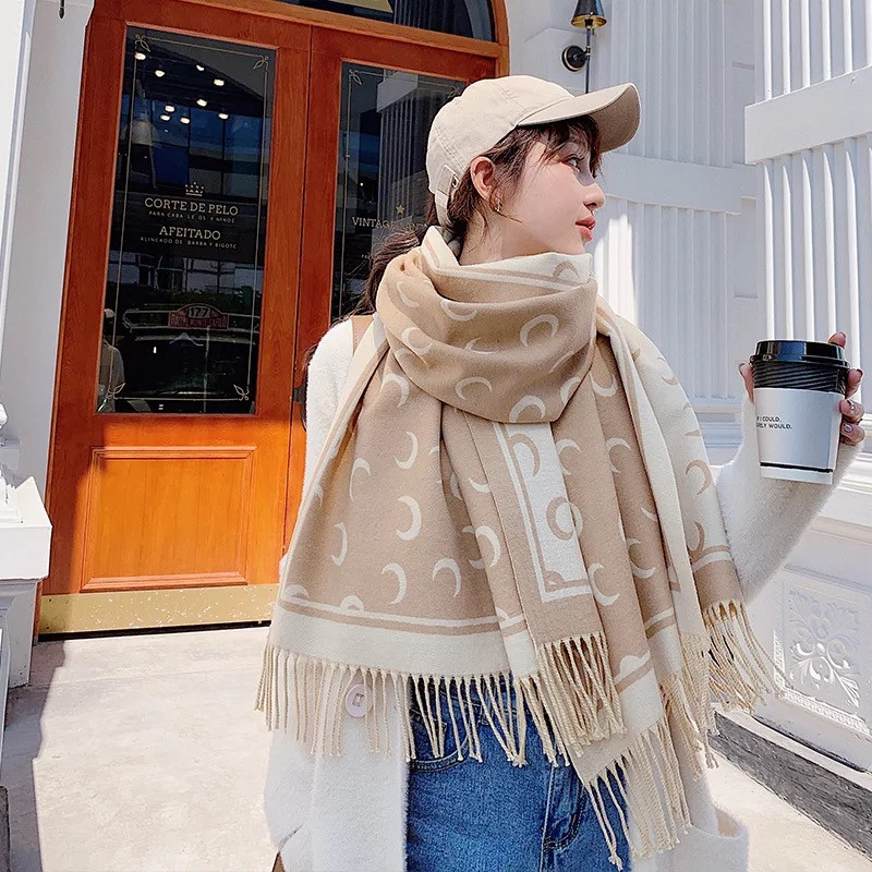New style China quality silk Autumn and winter Women Soft wool Scarf female Warmer fashion Cashmere shawl Keep warm Collar scarf