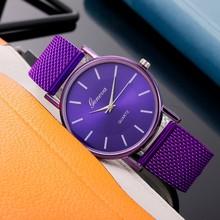 Zegarki damskie wysokiej klasy zegarek kwarcowy na co dzień niebieskie szkło Wrist Watch marka moda sport wodoodporny damski zegar cyfrowy tanie tanio CN (pochodzenie) Nie wodoodporne STAINLESS STEEL Skóra wdrażania wiadro Moda casual 40mm Ze stopu Brak Repeater 2020