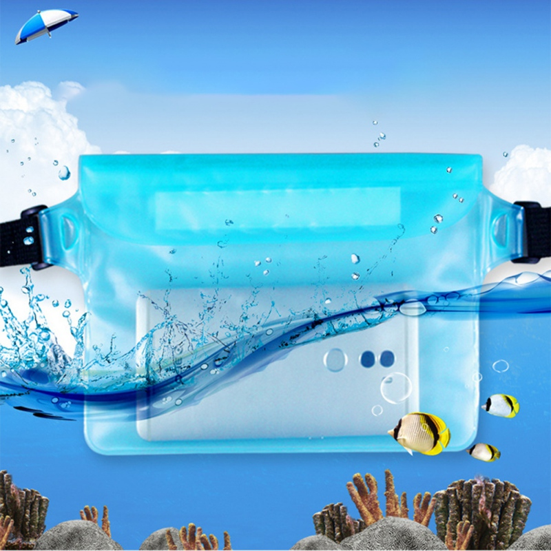 Waterproof Sports Bag Waist Bag Drifting Swimming  Diving Waist Fanny Pack Pouch Underwater Sealing Mobile Phone Pouch Pocket