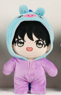 MYKPOP KPOP Doll s Clothes and Accessories Doll Pajama for 20cm dolls KPOP Bangtan Fans