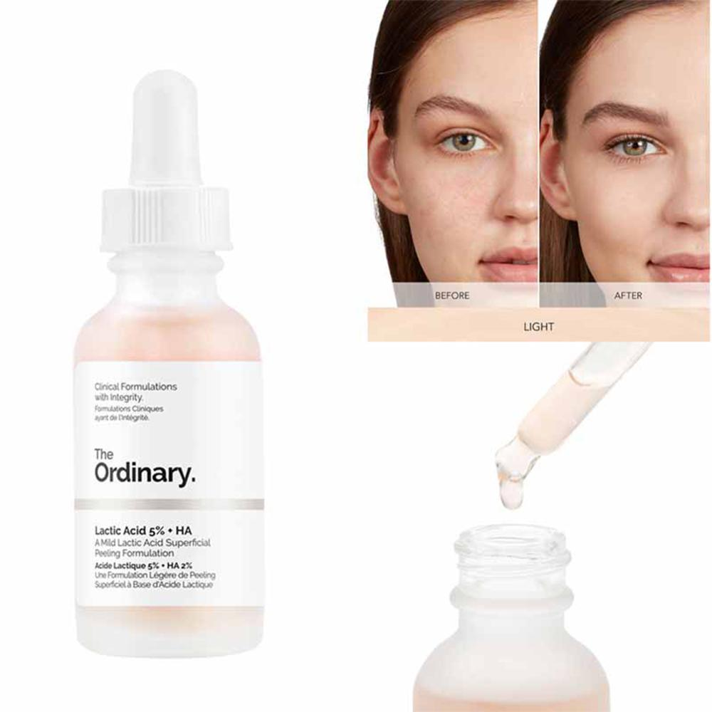 The Ordinary AHA 30% + BHA 2% Peeling Solution 30ml 10mins Exfoliating Mask Facial Serum Remove Acne Scars Whitening Skin Care