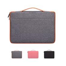 Водонепроницаемый ноутбук сумка рукав чехол Защитный 13,3 14,1 15,4 15,6 дюймов для ноутбука Apple лайнер посылка macbook просо чехол