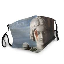 Masque facial réutilisable, Protection Anti-brume, Anti-poussière, respirateur