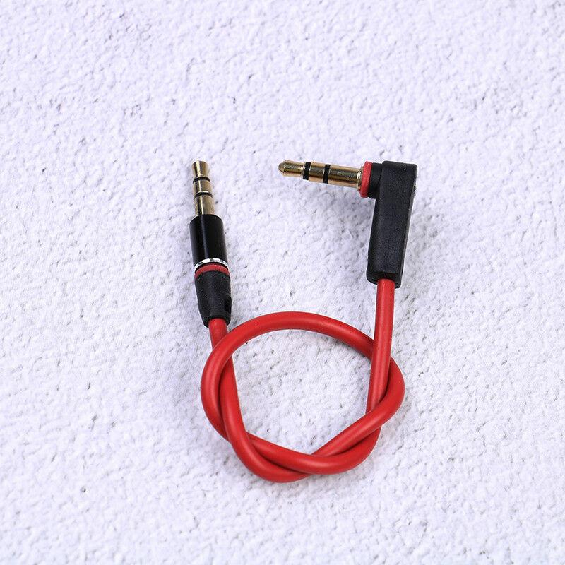3,5 мм короткие 30 см Джек кабель с соединителем для подключения к разъему Aux кабель со штыревыми соединителями на обоих концах для подключени...