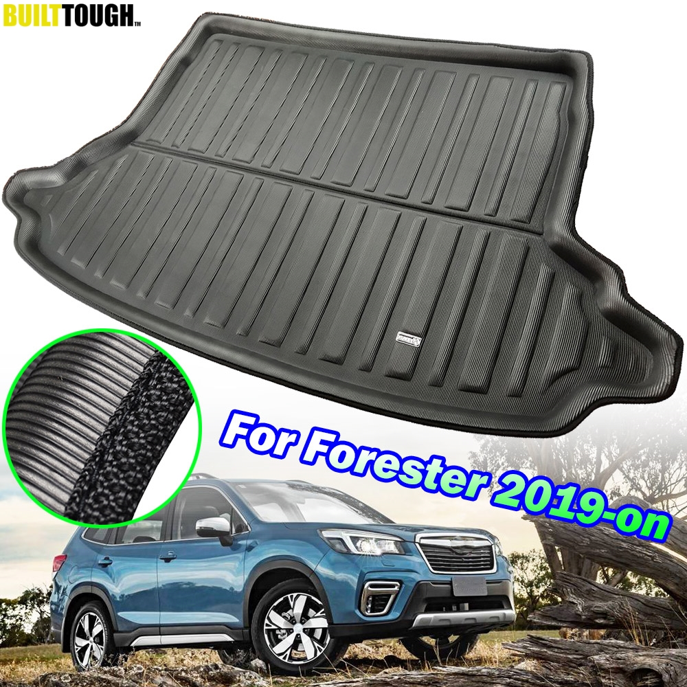 For Subaru Forester SK 2019 2020 MK5 5th Car Tailored Cargo Liner Boot Tray Rear Trunk Floor Mat Carpet Waterproof