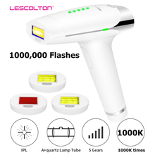 IPL epilator lescolton T009 1000000 pulsed Laser Hair Removal