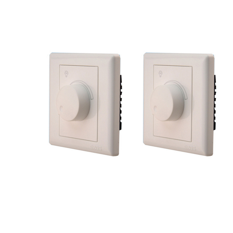 LED SCR Dimmer Switch AC220V 600W Dimming Driver Brightness Controller For Dimmable Ceiling Light Downlight Spotlight