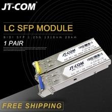 1Gb Lc Sfp Module Enkele Vezel Optische Transceiver Gigabit Fiber Sfp Switch Module 3 80Km Compatibel Met mikrotik/Cisco Switch