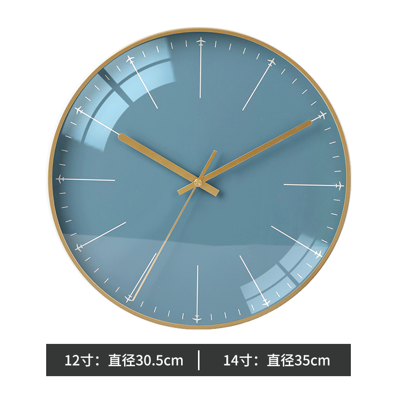 Minimalist Nordic Glass Wall Clock Bedroom Large Wall Watch Modern Design Wall Clocks Decorative Watches Living Room New II50BGZ
