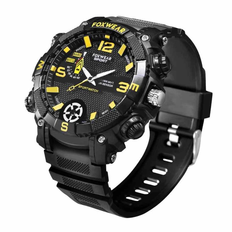 New smart Sports Camera Watch Remote Wifi Large Capacity HD Wristband Glare lighting IP67 Waterproof network Video Camcorder