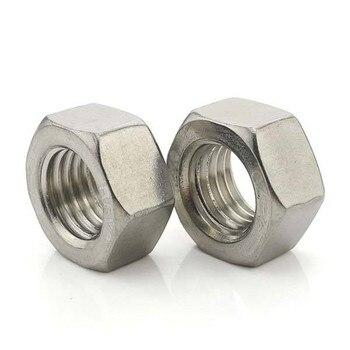 M3-M16 DIN934/DIN 934/DIN555/DIN6915/ISO4032 tuercas hexagonal juego de rosca métrica para tornillos tuerca...