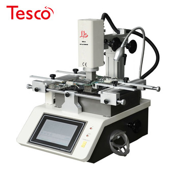 Professional mobile rework machine hot air touch screen 3 zones soldering station for phone chip repair  LY-5200 3 zones hot air optical precision optical alignment system bga rework station for phone reparing