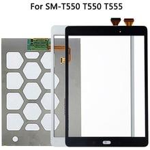 Original สำหรับ Samsung Galaxy Tab E SM T550 T550 T555 จอแสดงผล LCD เซ็นเซอร์หน้าจอสัมผัสกระจก Digitizer แผง T550 LCD TOUCH แผง