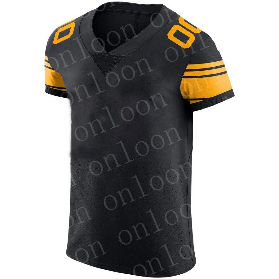 Color Mens 2020 American Football Pittsburgh Sport Fans Troy Polamalu Jerome Bettis Le'Veon Bell James Conner Devin Bush Jerseys