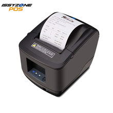 IssyzonePOS Thermal Receipt Printer 80mm USB Serial Ethernet Port 260mm/s Auto Cutter ESC/POS Support DHCP Pos Receipt priner usb and serial interface 80 mm thermal receipt printer with cutter support cash drawer print for sale auto cut 80 serial printer