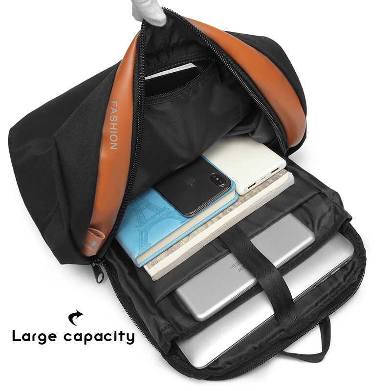 Anti-diebstahl Rucksack 15.6/17 Zoll Laptop Mochila Männlichen Wasserdicht Zurück Pack Rucksack Große Kapazität Schule Rucksack Notebook tasche