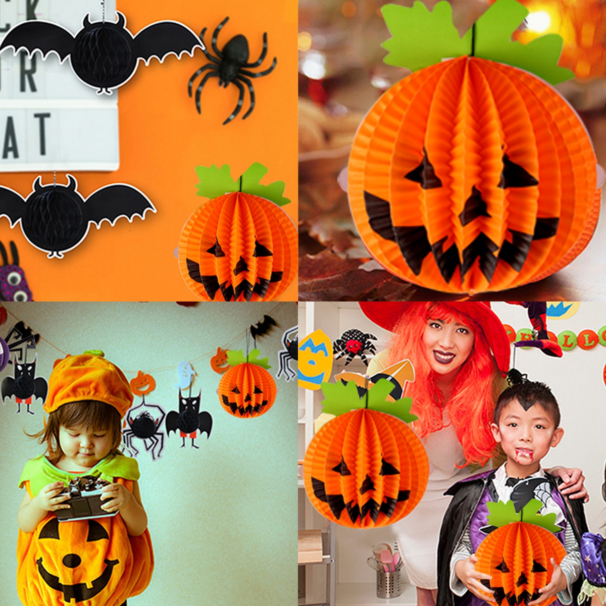 Happy Halloween Decor Set 28