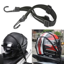 60cm Universal Motorcycle Helmet Straps Motorcycle Strength Retractable Luggage Elastic Rope Strap Luggage Bag