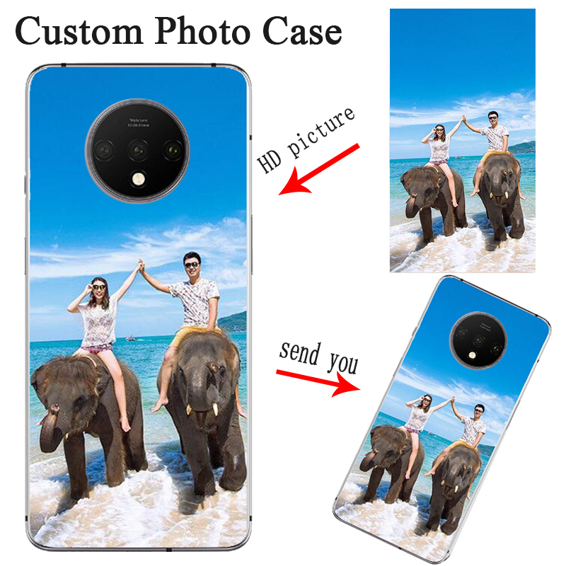 Custom Personalized Photo Cases For Oneplus 7t Case Oneplus 8 Pro Cover Customized Picture Logo For Oneplus 6 Oneplus 5 3 3T