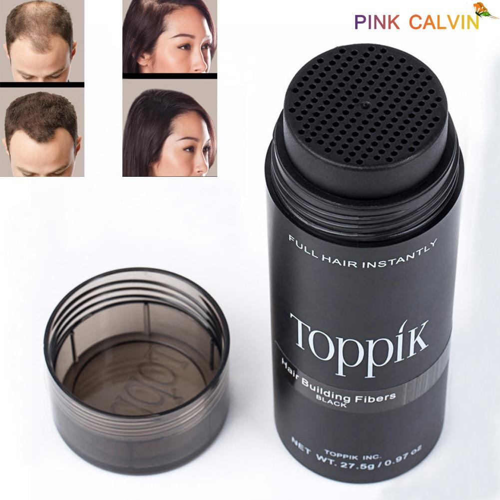 Toppik Hair Growth Hair Fibers Building 9 Colors Full Hair Instantly Fibre Capilares Hold Spray Powder Hair Growth Product US