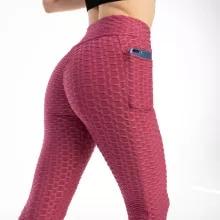 New Anti-Cellulite Pocket Leggings Women Workout High Waist Push Up Legging Running Fitness Gym Jeggings Pants Women Clothing