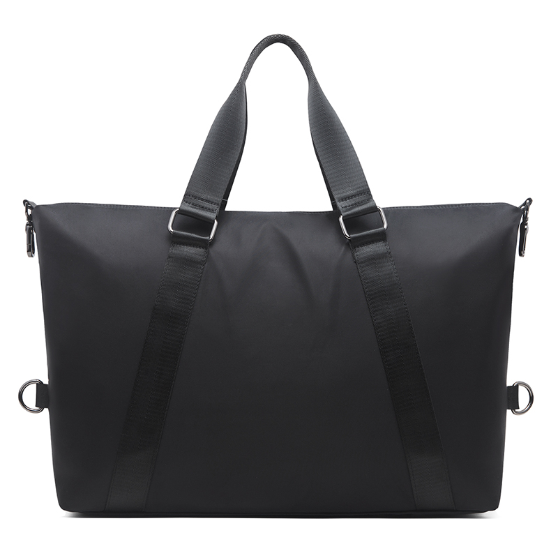 MATCHANT Canvas Mens Shoulder Bag Carry-on Baggage Weekend Bag Large Capacity Package Travel Duffels Color : Dark Gray