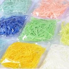 Shredded Packaging Paper-Filler Bag-Decor Decoration-Material Raffia Colorful DIY