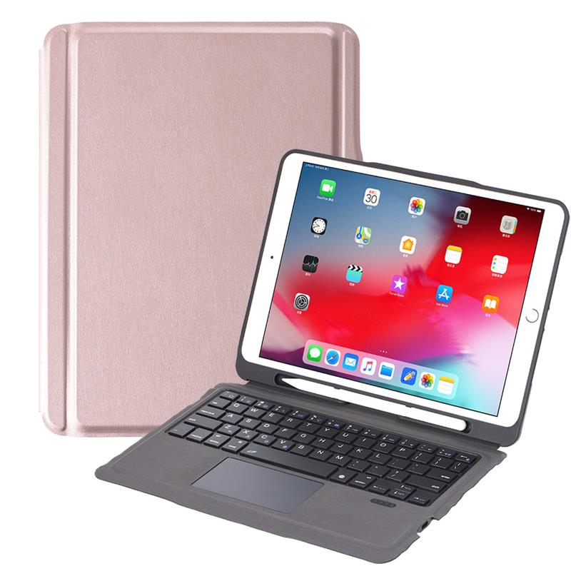 For iPad 10.2 2019 iPad Air 3 10.5 2017 iPad Pro 10.5 2017 USA Keyboard Case with Trackpad For 7th Gen iPad Case with Keyboard